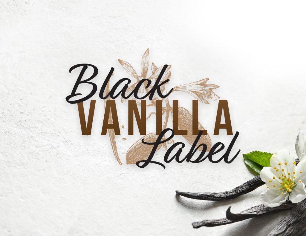 Black Label Vanilla Logo with background