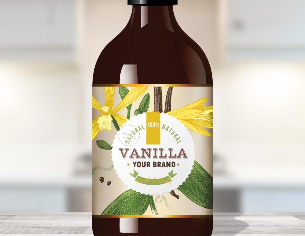 Private Label Vanillla in kitchen